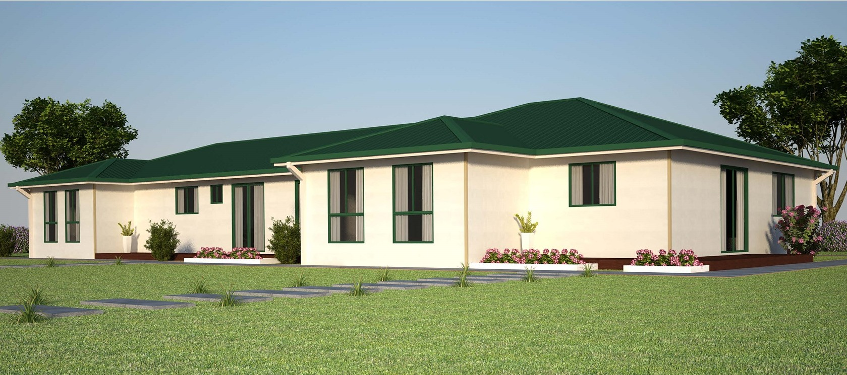 4 Bedroom Kit Home lining components
