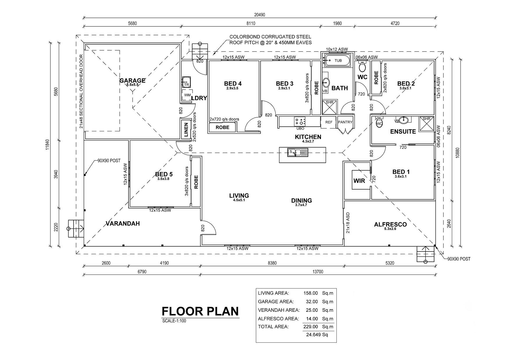 Colton Floor Plan