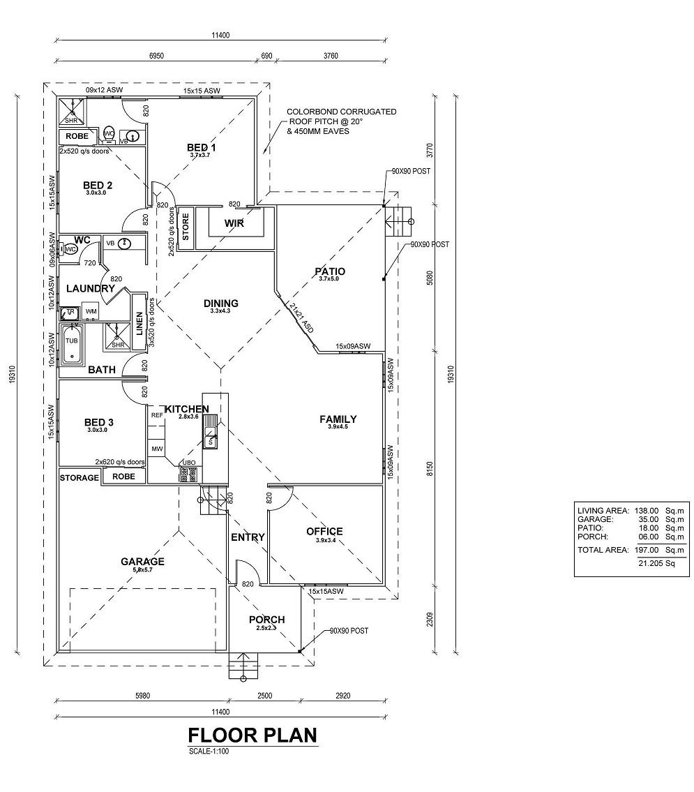 Fairy Bower Floor Plan