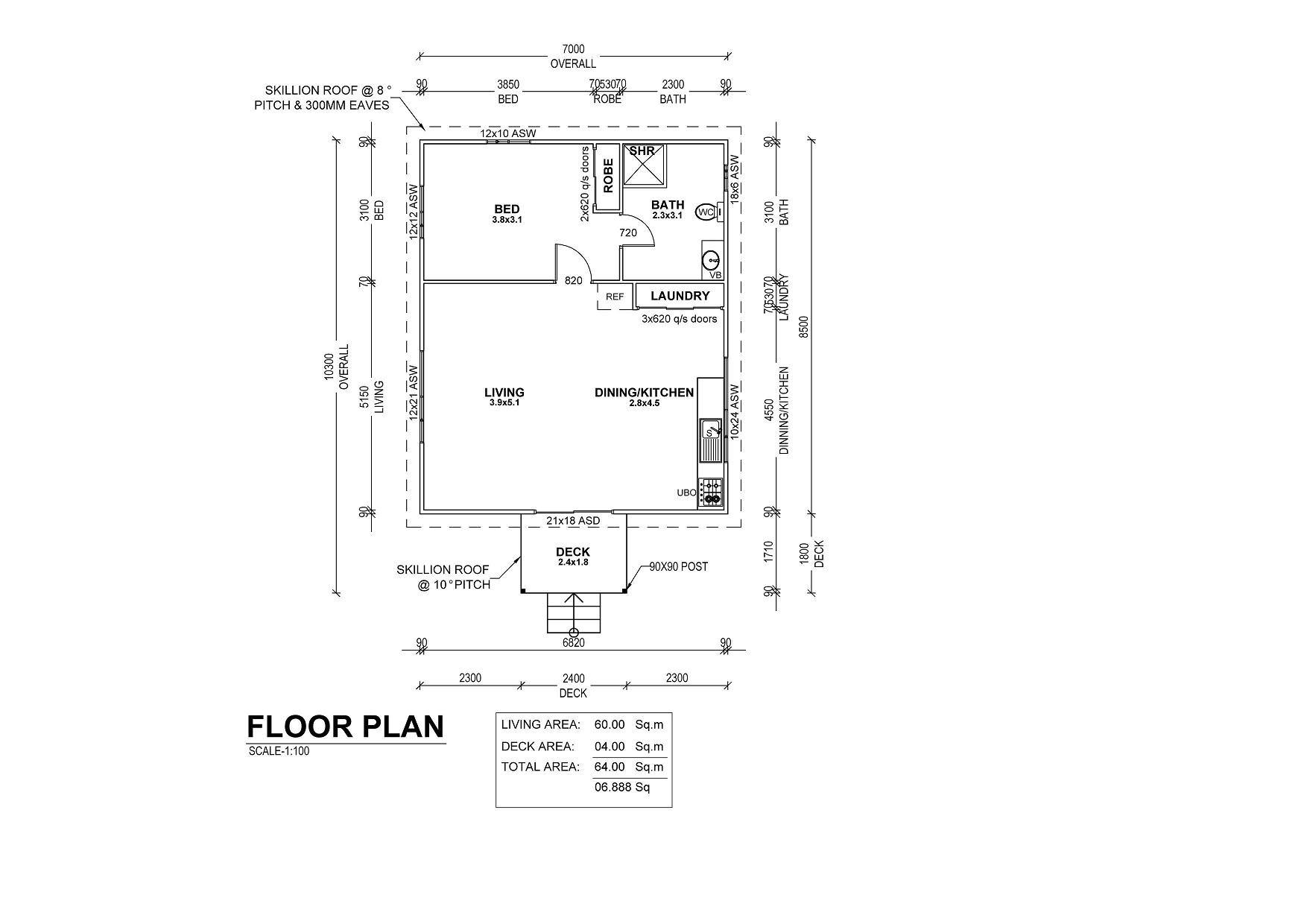 Gumnut Floor Plan