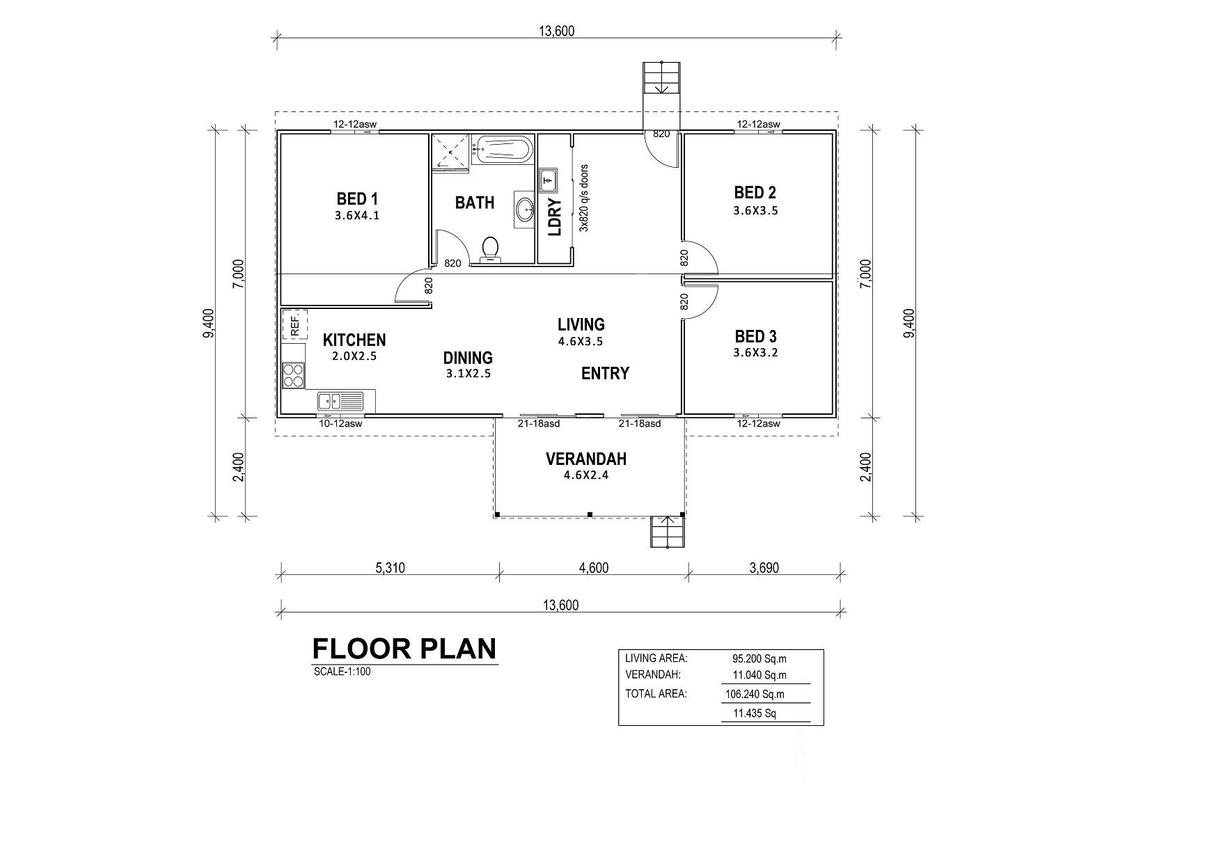 Whitehaven Floor Plan