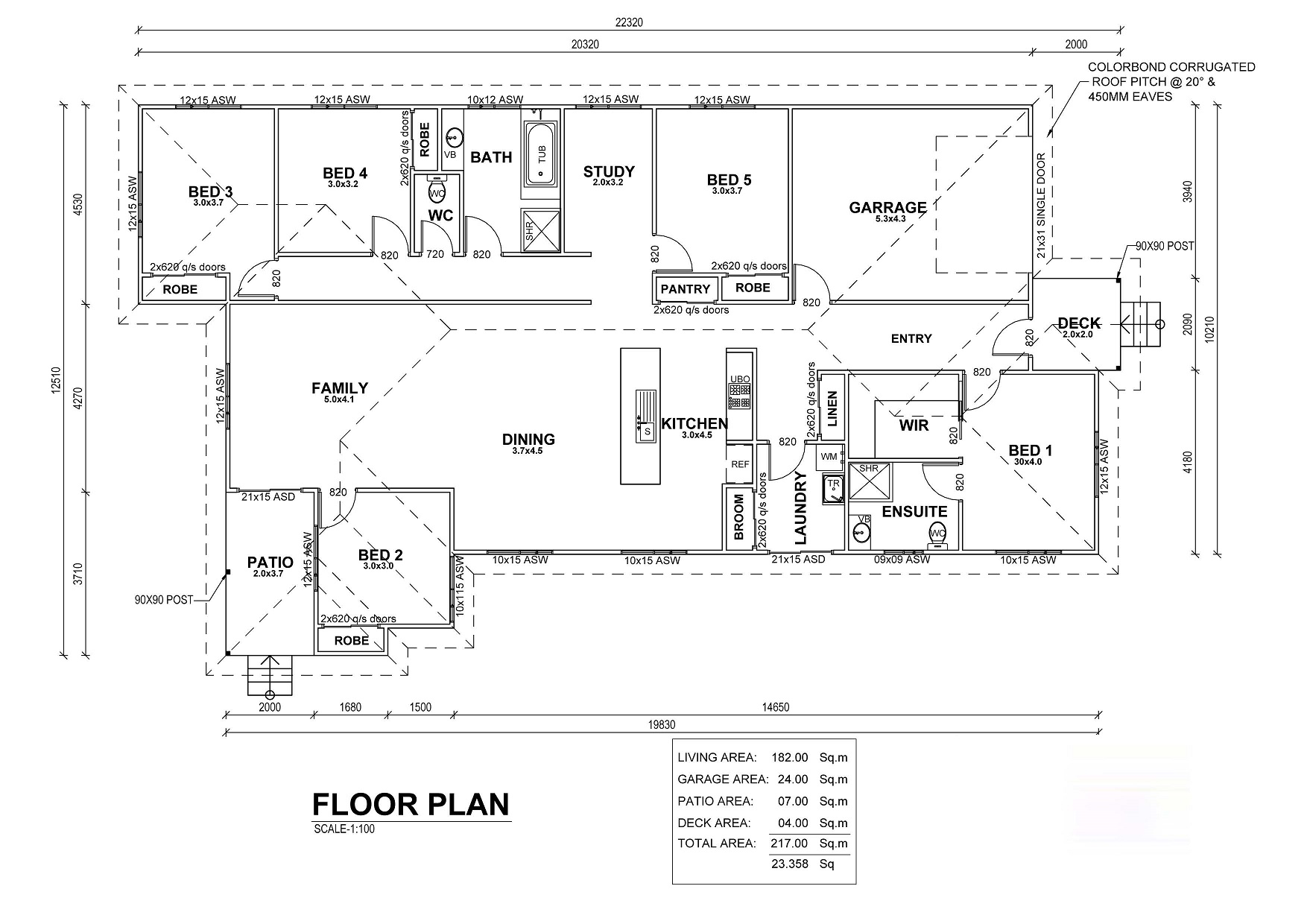 Bellbird Floor Plan