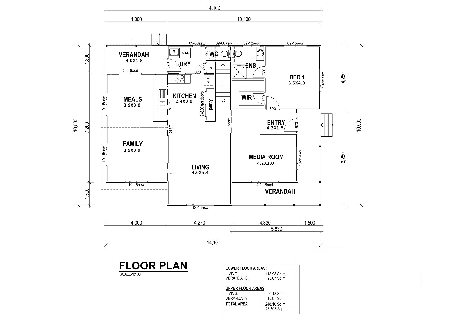 Birkdale Floor Plan