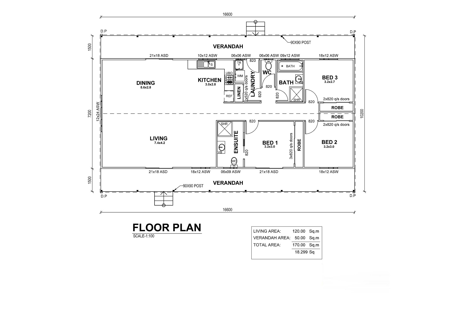 Kingsley Floor Plan