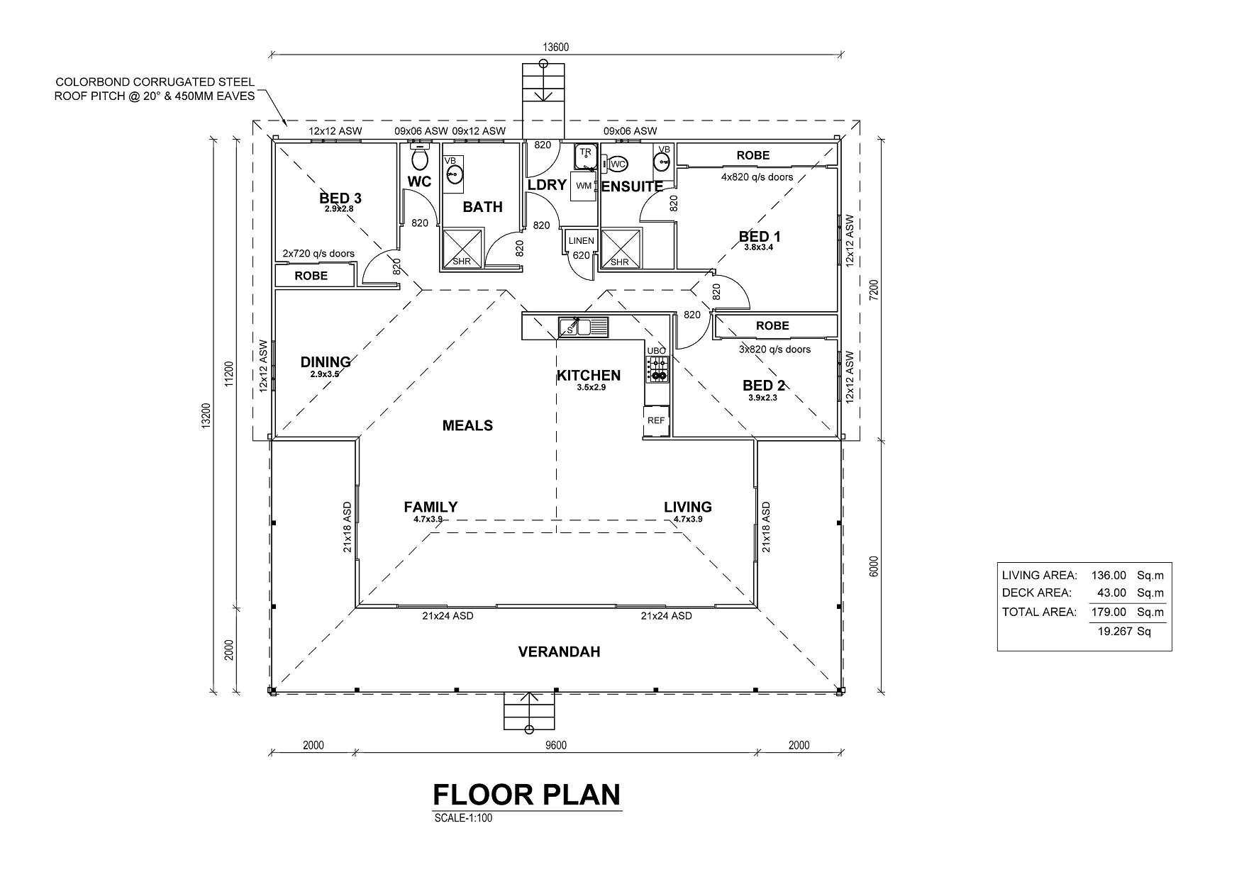 Pacific Vista Floor Plan