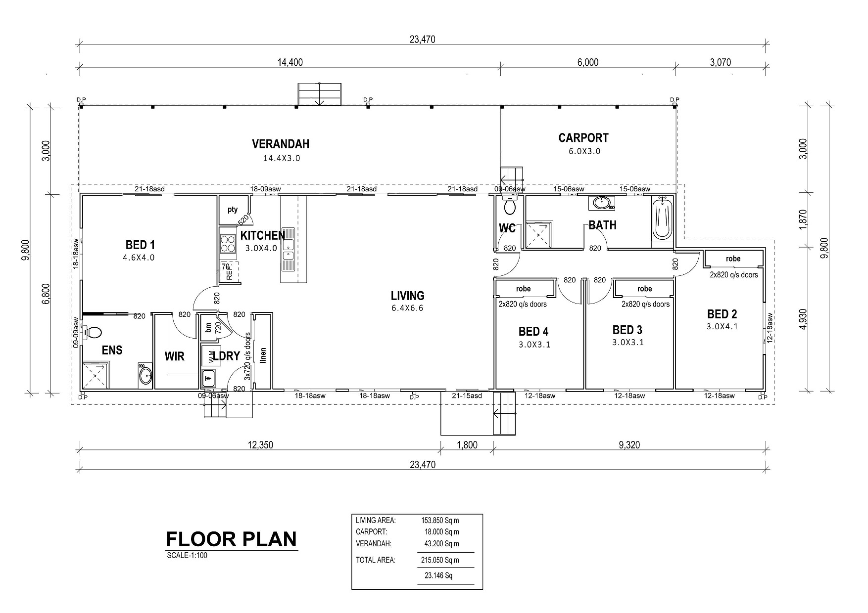 Queensberry Floor Plan
