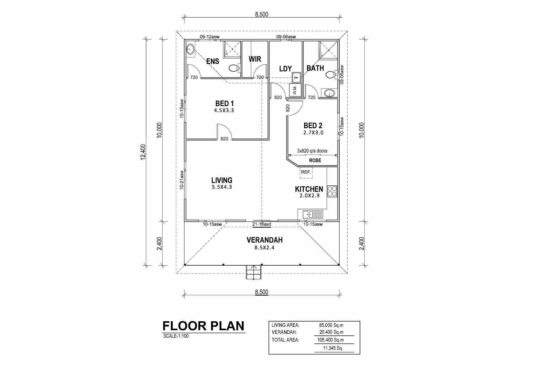 Tallows Floor Plan