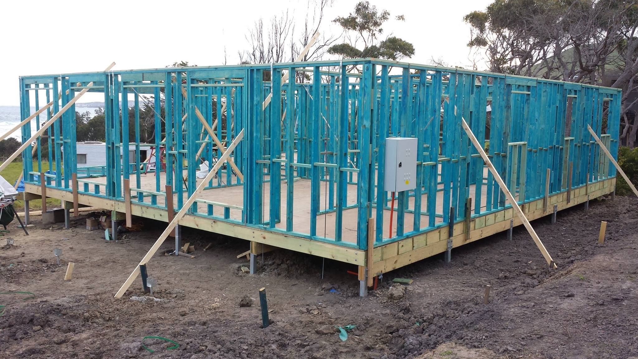 Tips when building a kit home
