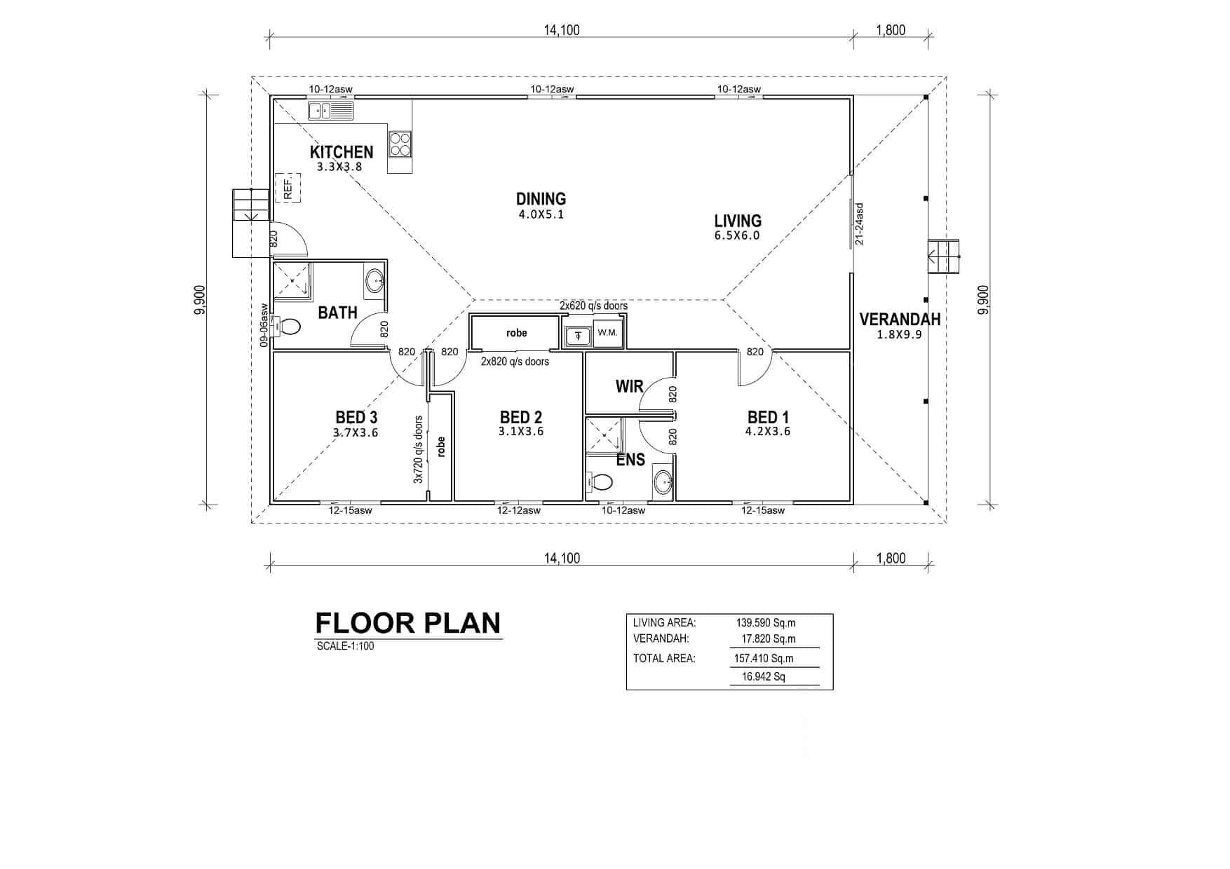Malibu Floor Plan