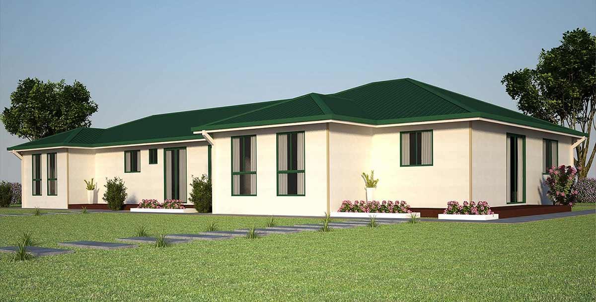 four bedroom Kit Homes
