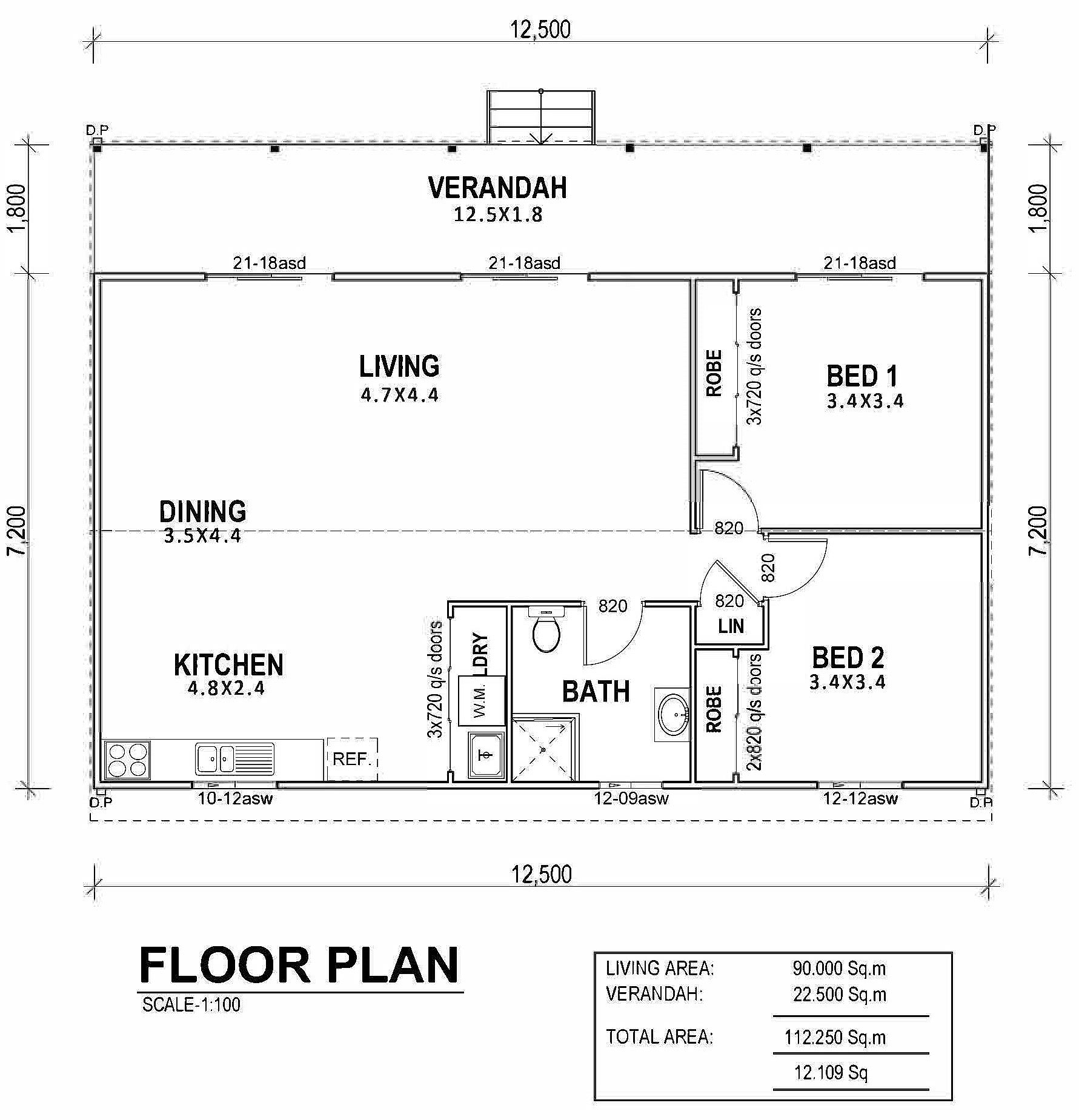 Fleming Floor Plan