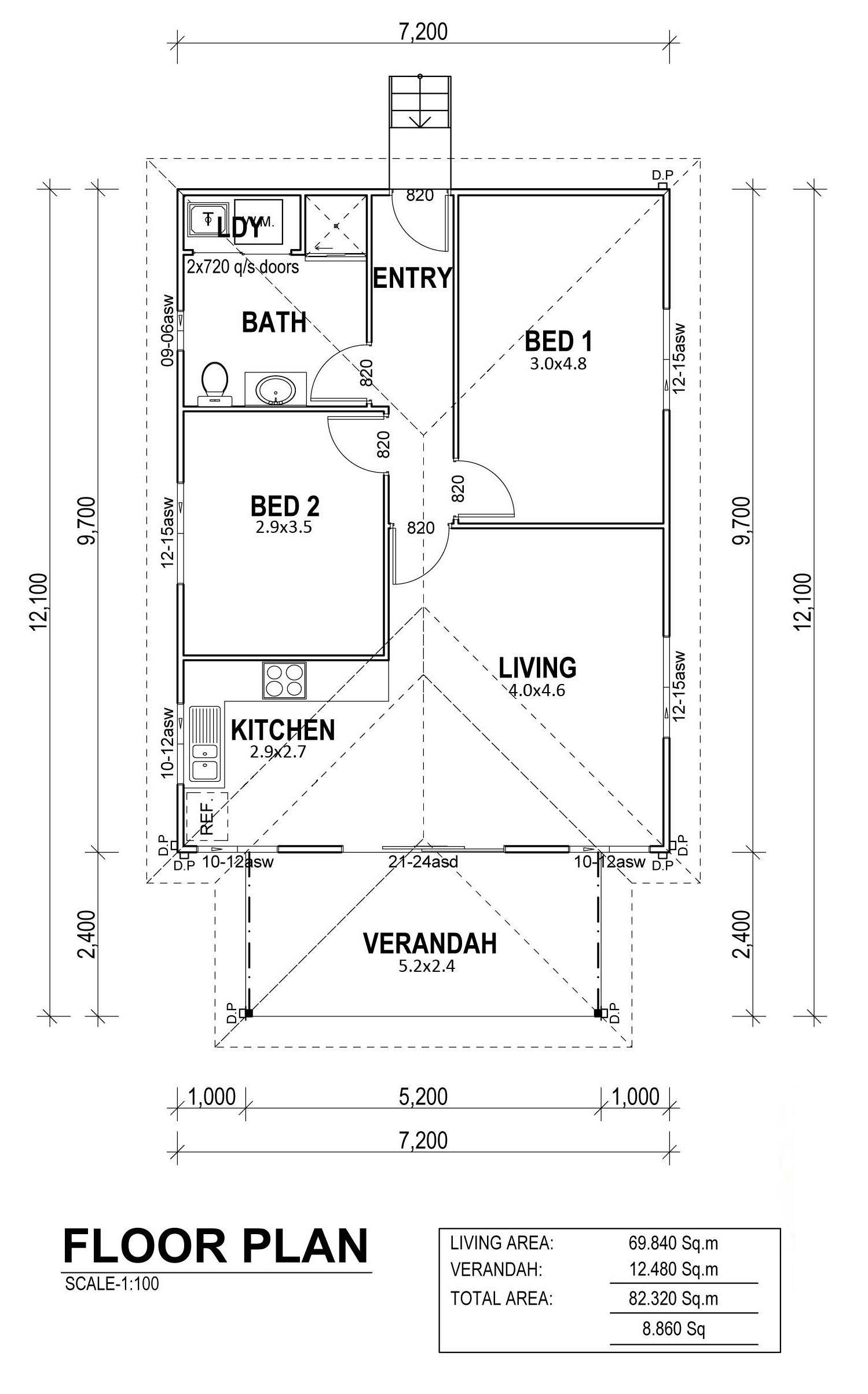 Ocean Crest Floor Plan